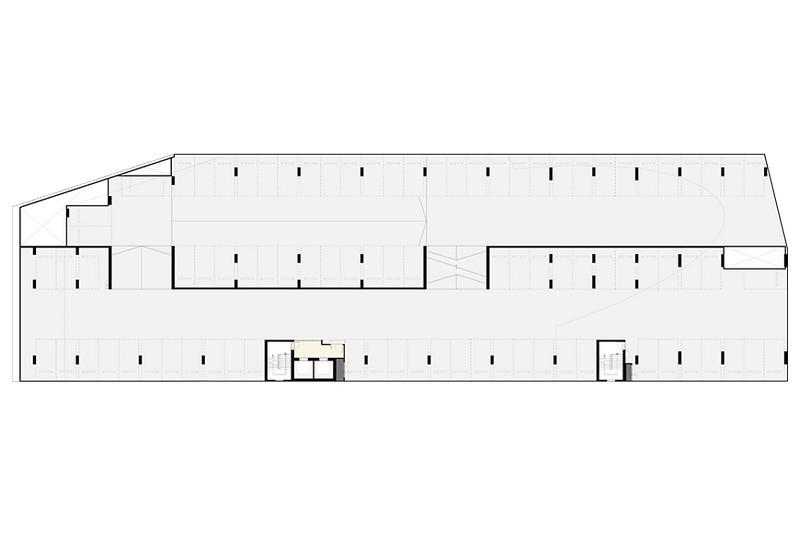 Elio Del Nest Floor Plan อาคาร H ชั้น 3